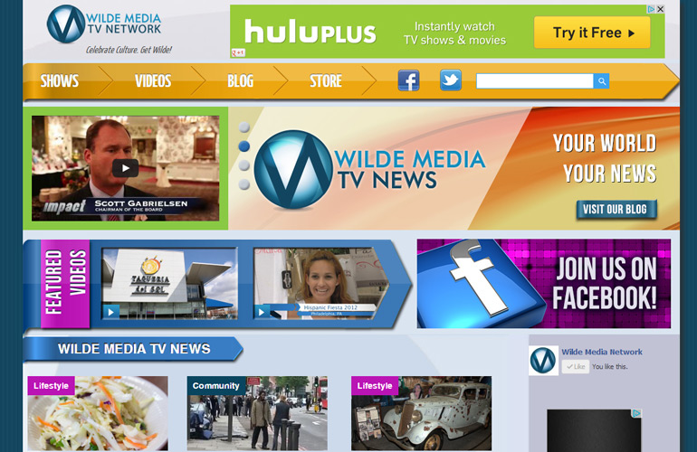 Wilde Media Tv Network Website